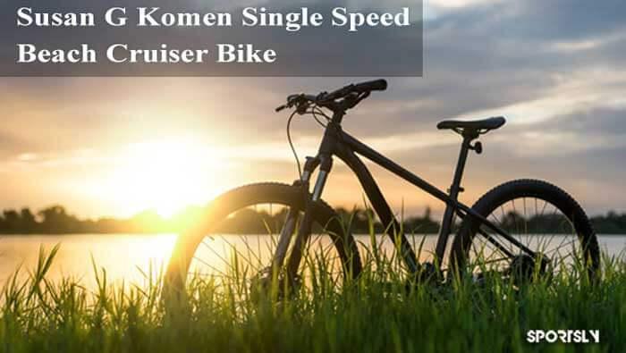 Susan-G-Komen-Single-Speed-Beach-Cruiser-Bike